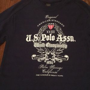 U.S. Polo Assn. boys long sleeved shirt never worn